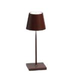 Poldina mini pro portable tafellamp Zafferano