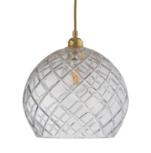 Rowan crystal Ø 28 cm hanglamp Ebb & Flow