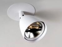 Arthie 70 C1 semi recessed plafondlamp Nosta