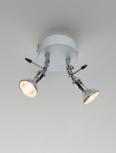 Baionetta 2 led plafondlamp Disegnoluce