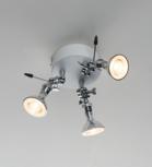Baionetta 3 led plafondlamp Disegnoluce