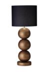 Milano 3 bol lichtbrons mat tafellamp Stout