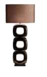Maxime brons 3 vloerlamp Stout
