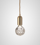 Clear Crystal Bulb & Pendant hanglamp Lee Broom