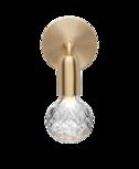 Clear Crystal bulb wandlamp Lee Broom