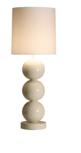 Milano 3 bol wit tafellamp Stout