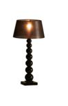 Milano 7 bol zwart tafellamp Stout