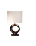 Luna 58 cm brons glans tafellamp Stout