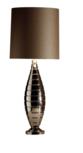 Hilton glans nikkel tafellamp Stout