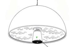Glass diffuser skygarden s2
