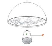 Glass diffuser skygarden s1