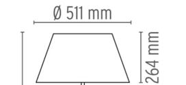 Diffuser gun table tafellamp