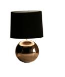 Milano bol klein nikkel glans tafellamp Stout