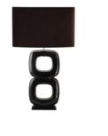 Maxime bruin 2 tafellamp Stout