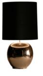 Milano bol groot brons glans tafellamp Stout
