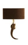 Hemingway hoorn klein wandlamp Stout