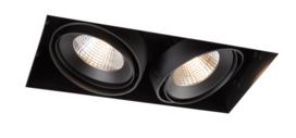 Multiple trimless 2x M LED111 Medium GE inbouwspot Modular