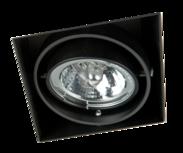 MV Line Trimless inbouwspot enkelvoudig LED AR70 - inbouwspot