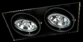 MV Line Trimless inbouwspot dubbelvoudig LED AR70 - inbouwspot