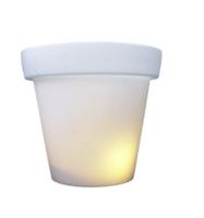 Bloempot 90 cm met licht buitenlamp Bloom!Holland - sale
