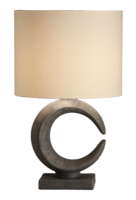 Luna 85 cm vintage grey tafellamp Stout