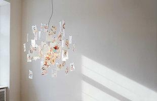 Zettel'z Laughing Buddha Limited edition hanglamp Ingo Maurer