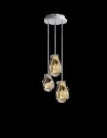 Soap chandelier 3 hanglamp Bomma