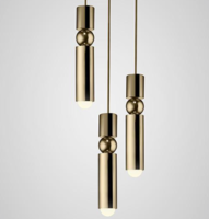 Fulcrum Chandelier 3 piece hanglamp Lee Broom