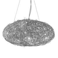 Fil de fer ovale 70 cm hanglamp Catellani&Smith
