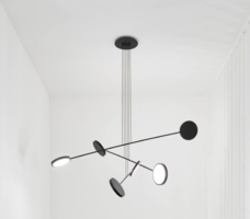 Mobi 3 arm hanglamp TossB