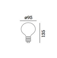 G95 2200k deco lamp