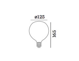 G125 2200k deco lamp