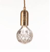 Clear Crystal Bulb & Pendant hanglamp Lee Broom