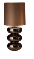 Daytona brons glans tafellamp Stout