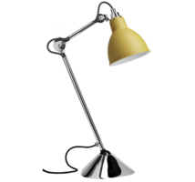 Lampe gras n°205 chroom tafellamp Dcw Éditions