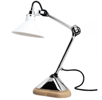 Lampe gras n°207 chroom tafellamp Dcw Éditions