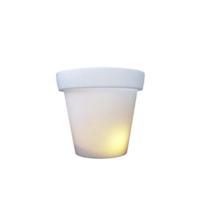 Bloempot 40 cm met licht buitenlamp Bloom!Holland