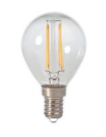 Led filament globe helder p45 e14 lichtbron Calex