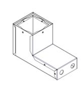 Conbox hipy 67 recessed square Modular