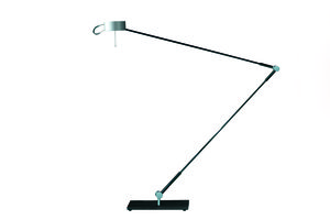 Desktop light 457e chroom mat tafellamp Absolut Lighting