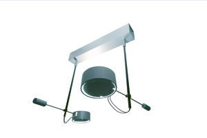 Ceiling light 457wd2 chroom mat plafondlamp Absolut Lighting