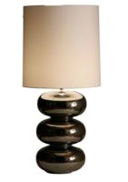 Daytona nikkel glans tafellamp Stout
