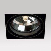 Grid trimless 1 lichts qr AR111 inbouwspot Deltalight