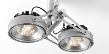 Nomad 111 2x LED GE opbouwspot Modular