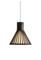Teakline horn hanglamp Lumière