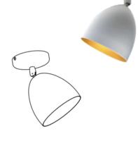 Arthur LB1 plafondlamp Nosta