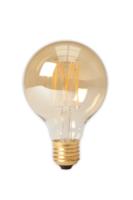 Led filament globe gold g80 e27 lichtbron Calex