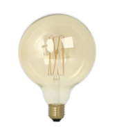 Led filament globe gold g125 e27 lichtbron Calex