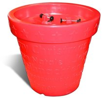 Xmas bloom pot rood met licht Bloom!Holland - sale