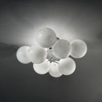 Atom 36 plafondlamp Metal Lux